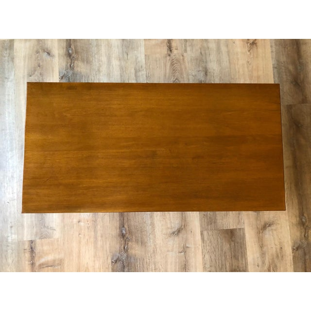 1950s 1950s Compact Paul McCobb Solid Maple Coffee Table For Sale - Image 5 of 7