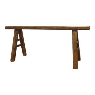 19th Century Chinese Country-Style Tiaodeng Bench For Sale