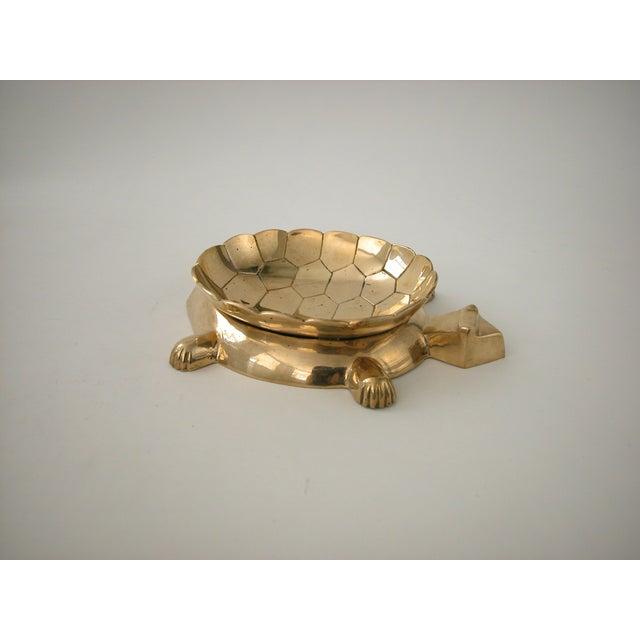 Vintage Brass Turtle Bowl - Image 8 of 8