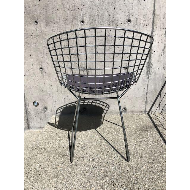 2000 - 2009 Knoll Bertoia Side Chairs - Set of 10 For Sale - Image 5 of 10