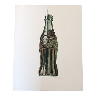 Original Pop Art Coca-Cola Painting by Stephen Heigh For Sale