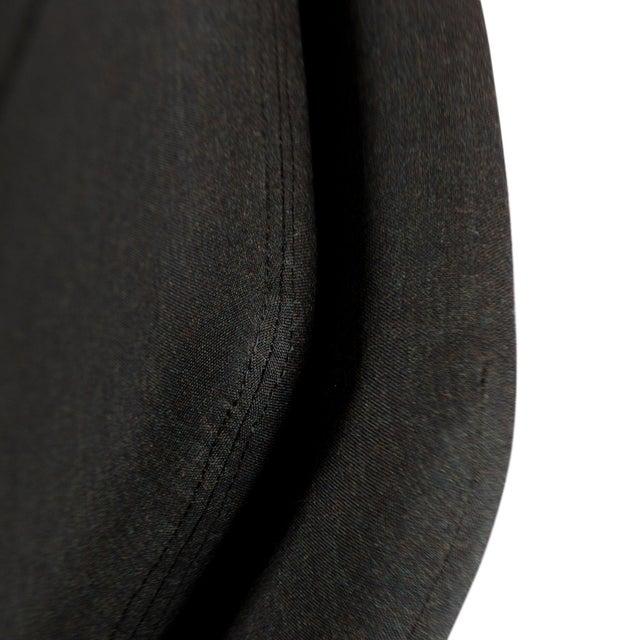 Dux Danish Modern Black Sofa & Lounge Chair - 2 Pc. Set For Sale - Image 12 of 13