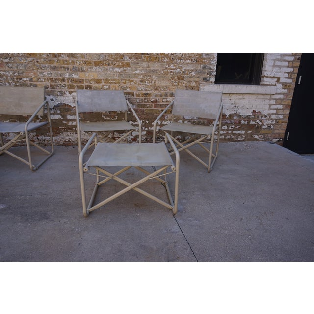 Vintage Mid Century Brown Jordan Nomad Collection Outdoor Chairs