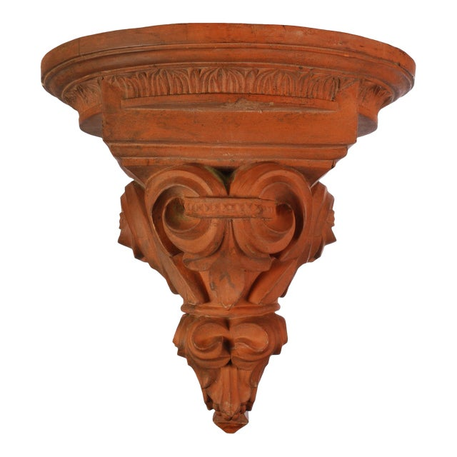 Large Terracotta Corbel Wall Bracket For Sale - Image 11 of 11