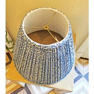Custom Lamp Shade in China Seas' Fabric Preview