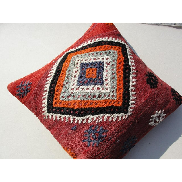 Kilim Rug Pillow For Sale In Houston - Image 6 of 11