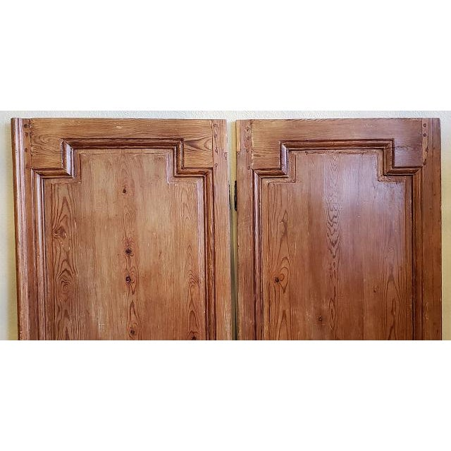 Mid 19th Century French Pine Carved Door Panels C.1870 For Sale - Image 9 of 11