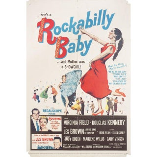 Rockabilly Baby 1957 U.S. One Sheet Film Poster For Sale