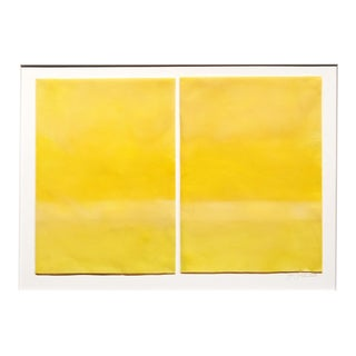 "Janise Yntema ""Lemon Yellow"", Painting For Sale"