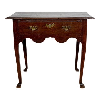 English Oak Low Boy, Circa 1780 For Sale
