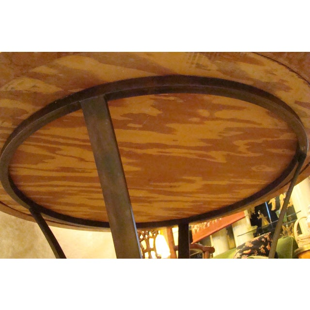 Italian Pietra Dura Marble Table For Sale - Image 9 of 9