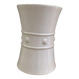 White Berry and Thread Juliska Vase For Sale