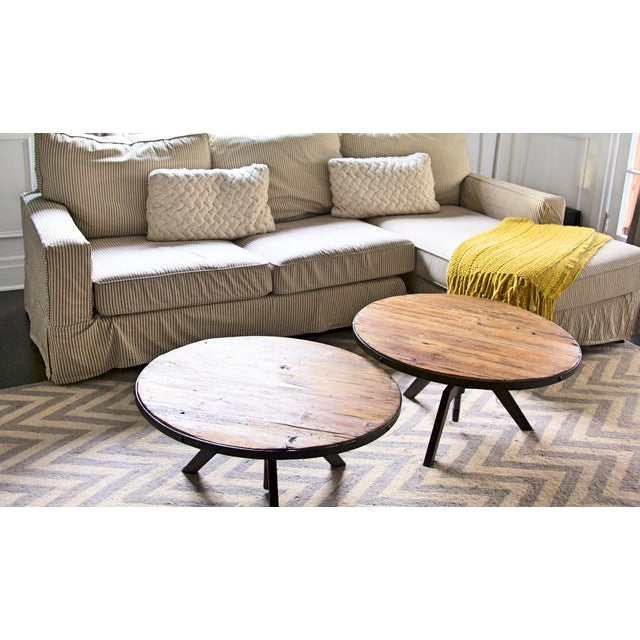 Rustic Modern Coffee Table - Image 4 of 5