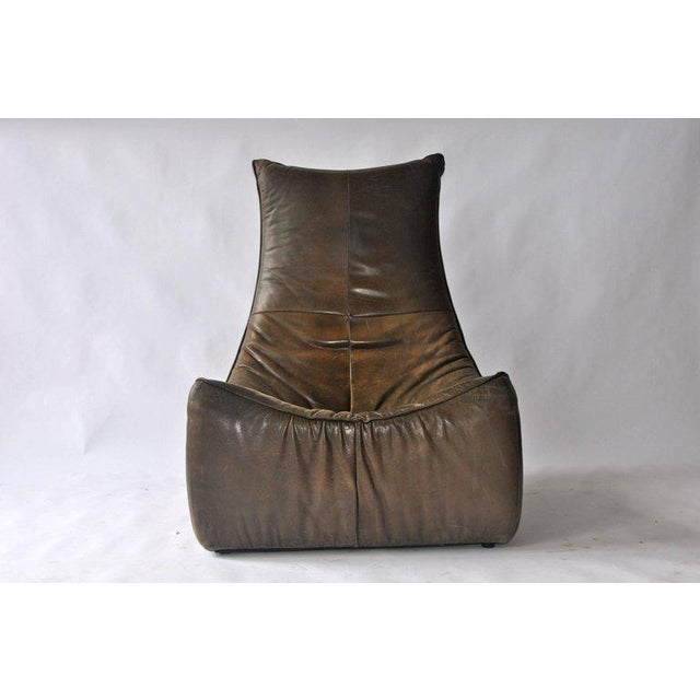 1970s Leather Chair by Gerard Van Den Berg for Montis - Image 2 of 9