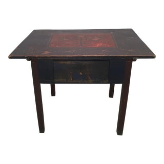 1898 Pennsylvania Dutch Island/Work Table