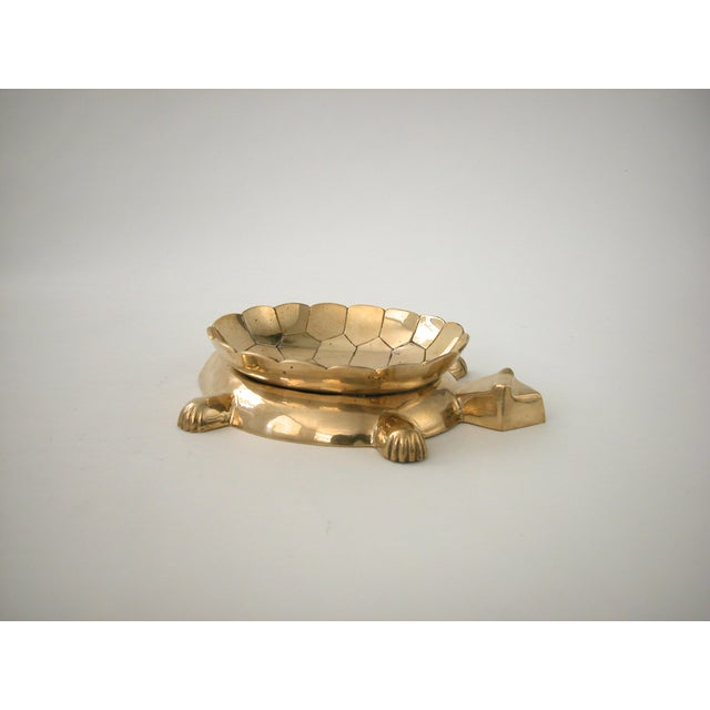 Vintage Brass Turtle Bowl - Image 2 of 8