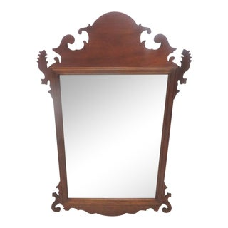 Stickley Chippendale Mahogany Mirror
