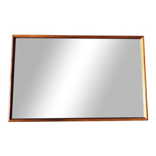 Mid-Century Modern Drexel Mahogany Wall Mirror For Sale