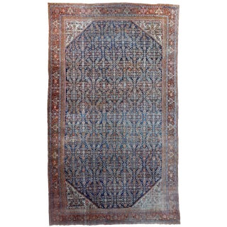 "Antique Sultanabad Persian Handmade Rug -14'3""x 23'3"""