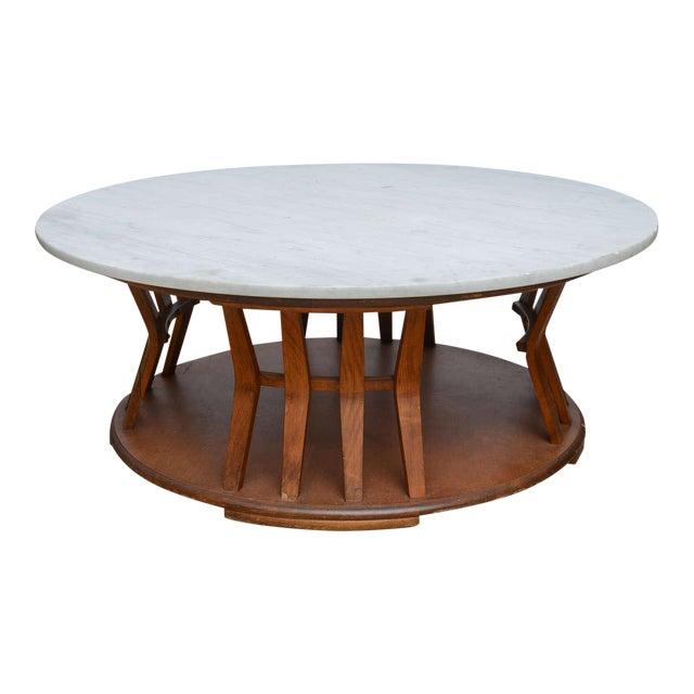 Wormley for Dunbar Style Walnut Coffee Table, 1960s, USA For Sale