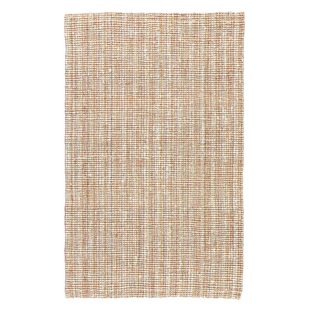 Jaipur Living Marvy Natural Solid Beige & White Area Rug - 10' X 14' For Sale