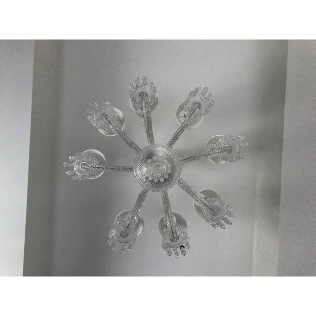 Crystal Baccarat Zenith Eight-Light Chandelier For Sale - Image 7 of 9
