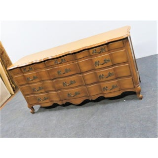 White Furniture Louis XV Style Serpentine 12 Drawer Dresser Preview