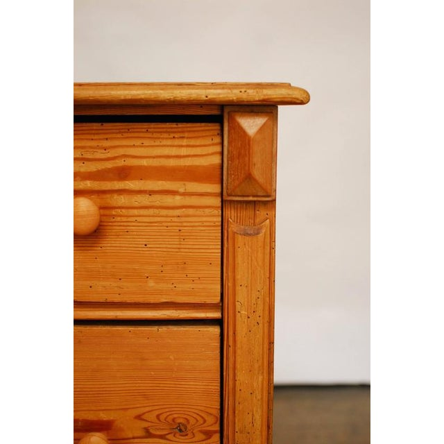 19th Century French Pine Commode - Image 3 of 7