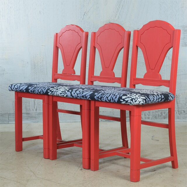 Arts & Crafts Style Chair Bench - Image 3 of 6