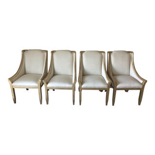 "Caracole Furniture Dining Chairs ""Sterling Reputation"" - Set of 4"