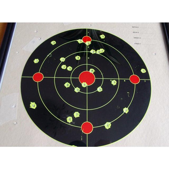 Framed NRA Shooting Target - Image 10 of 11