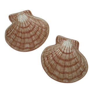 Lisa Thayer Scallop Dishes - a Pair For Sale