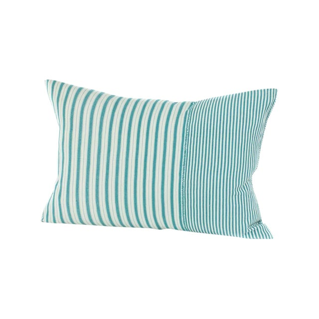Highlands Striped Pillow Cover in Tulum - Image 4 of 4