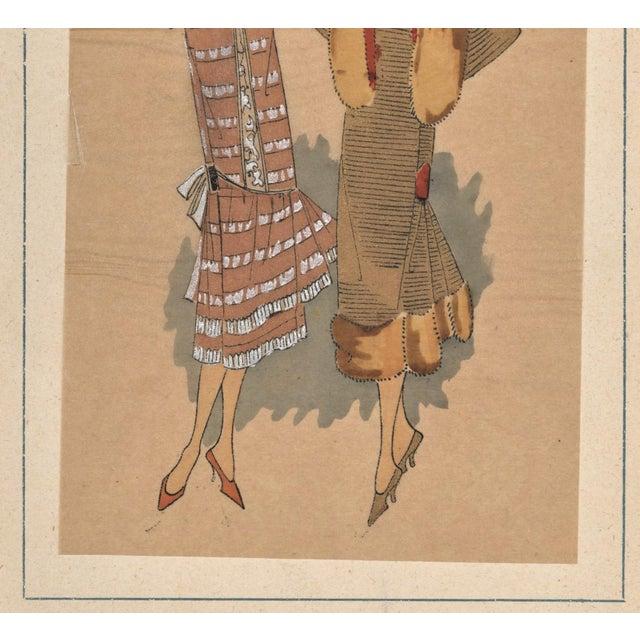 Art Deco Fashion Pochoir - Image 4 of 5