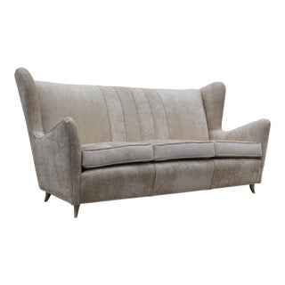 1950's Gio Ponti Style Italian Sofa For Sale