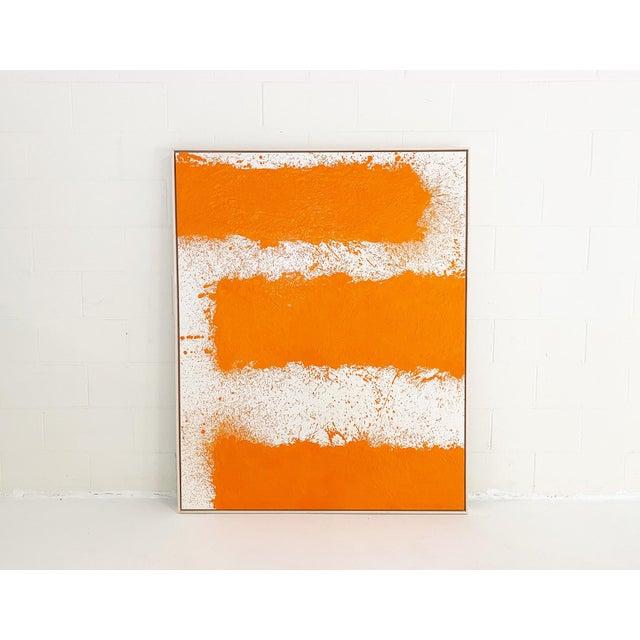 John O'Hara John O'Hara, Tar, T2, Encaustic Painting For Sale - Image 4 of 10