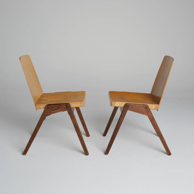 Two chairs created by Thonet, a company considered to have changed the industry of wooden furniture in the 19th Century...