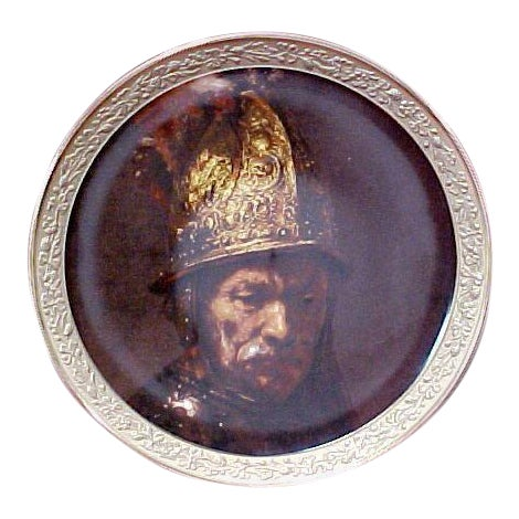 """Gorham Gallery of the Masters Plate """"Man With a Gilt Helmet"""", 1647 For Sale"""