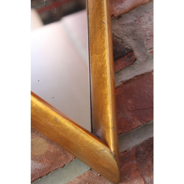 1960s Interlocking Diamond Giltwood Mirror by Labarge For Sale - Image 9 of 12