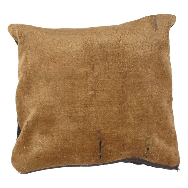 "Leon Banilivi Pillow W/Chinese Rug - 1'6"" X 1'6"" For Sale"