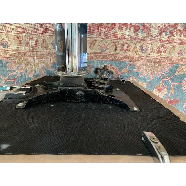 Metal 1980s Swivel Rocker Desk Chair For Sale - Image 7 of 11