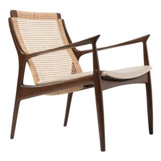 Mid Century Modern Ib Kofod Larsen Selig Armchair For Sale