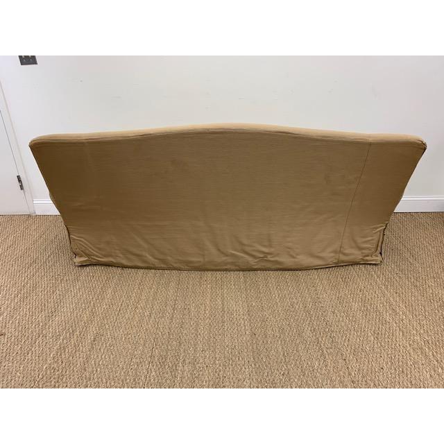 2010s Nancy Corzine Sofa W/ Bench Cushion For Sale - Image 5 of 10