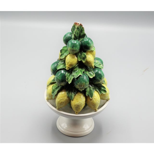 Italian Lemon & Lime Fruit Topiary For Sale - Image 4 of 6