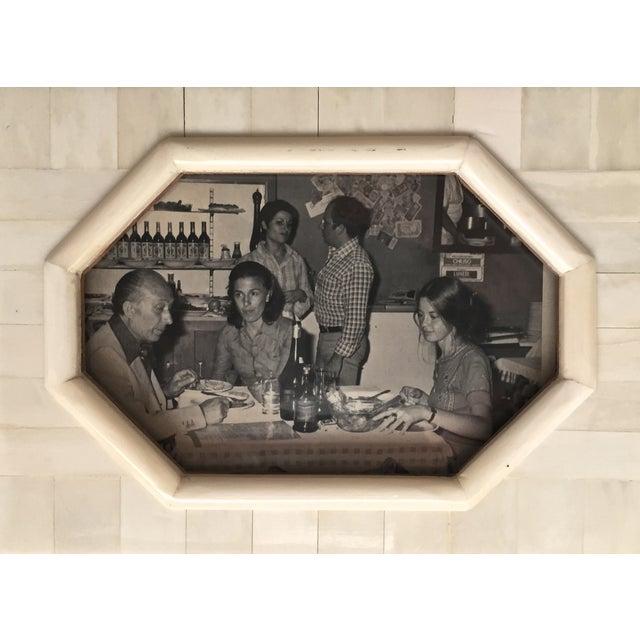 Vintage Bone & Wood Frame, Made India - Image 7 of 7