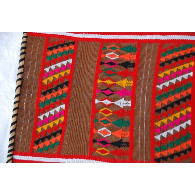 Mid Century Modern Multicolored Tapesty - Image 6 of 7
