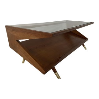 Paul Laszlo for John Keal Brown-Saltman Magazine Coffee Table For Sale