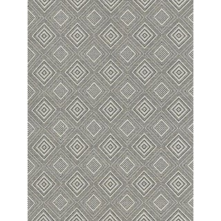 Scalamandre Antigua Weave, Carbon Fabric For Sale