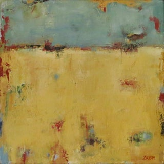 """Karen Zazon Contemporary Abstract Painting """" Tranquility"""" For Sale"""