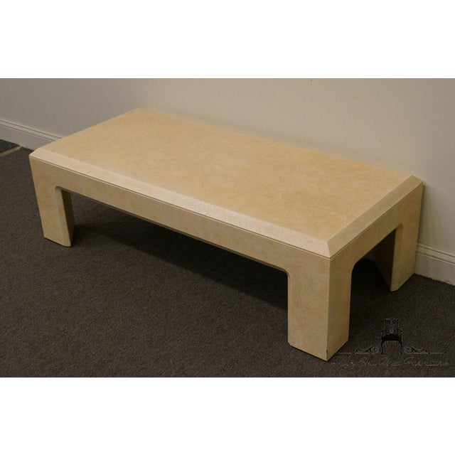 """Contemporary Lane Furniture Contemporary Style 54"""" Coffee Table For Sale - Image 3 of 13"""